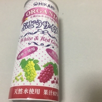 ぶどうサイダー+レモン