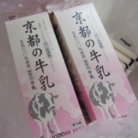 京都の牛乳