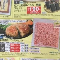 牛豚挽肉パラパラミンチ