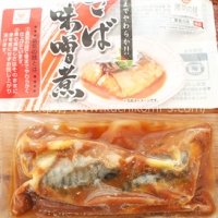 三陸産骨取りさばの味噌煮180g 2切×2P (388円)