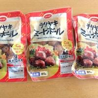 テリヤキミートボール 3袋 (203円)
