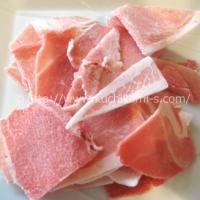 豚小間切れ肉 バラ凍結 100g (130円前後)