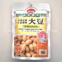 大豆ドライパック 60gが5袋 (495円)