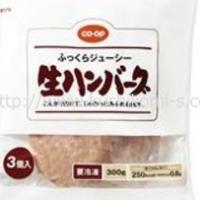 電子レンジで!肉汁じゅわっとハンバーグ 320g 4個入 (429円)
