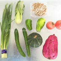 グリーンボックス 野菜8種 (925円)