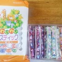 るんるんスティックゼリー 32本入り (409円)