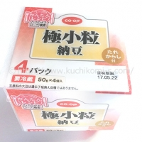 極小粒納豆 50g×4 (102円)